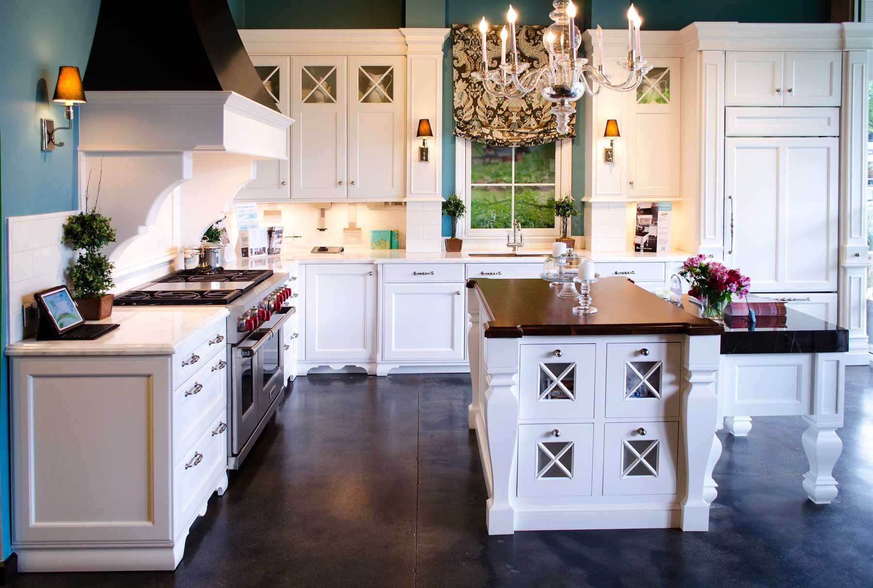 Kitchen Showroom Display Design Ideas
